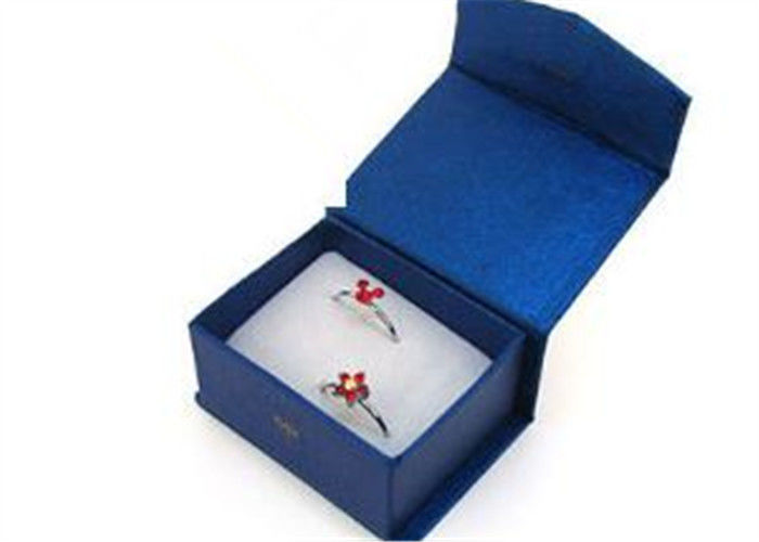 Fashional Small Jewelry Gift Box , Square Personalised Jewellery Box Eco - Friendly